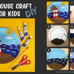 DIY Easy Lighthouse Craft for Kids