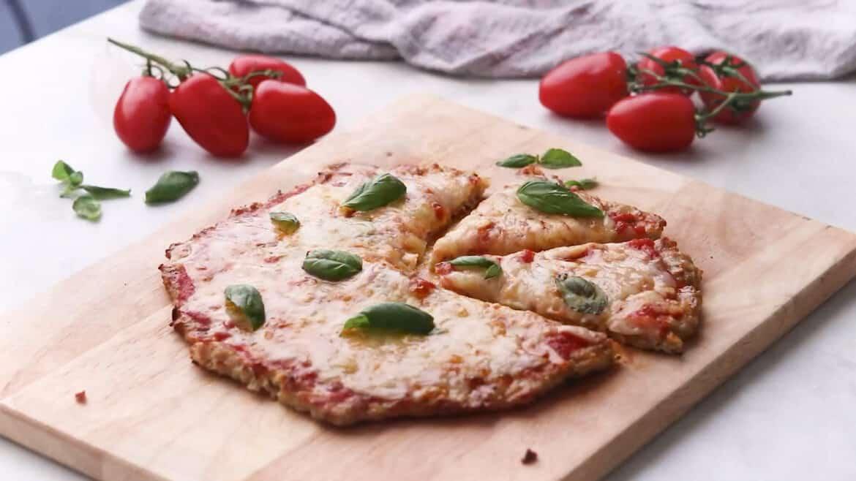 keto chicken crust pizza recipe