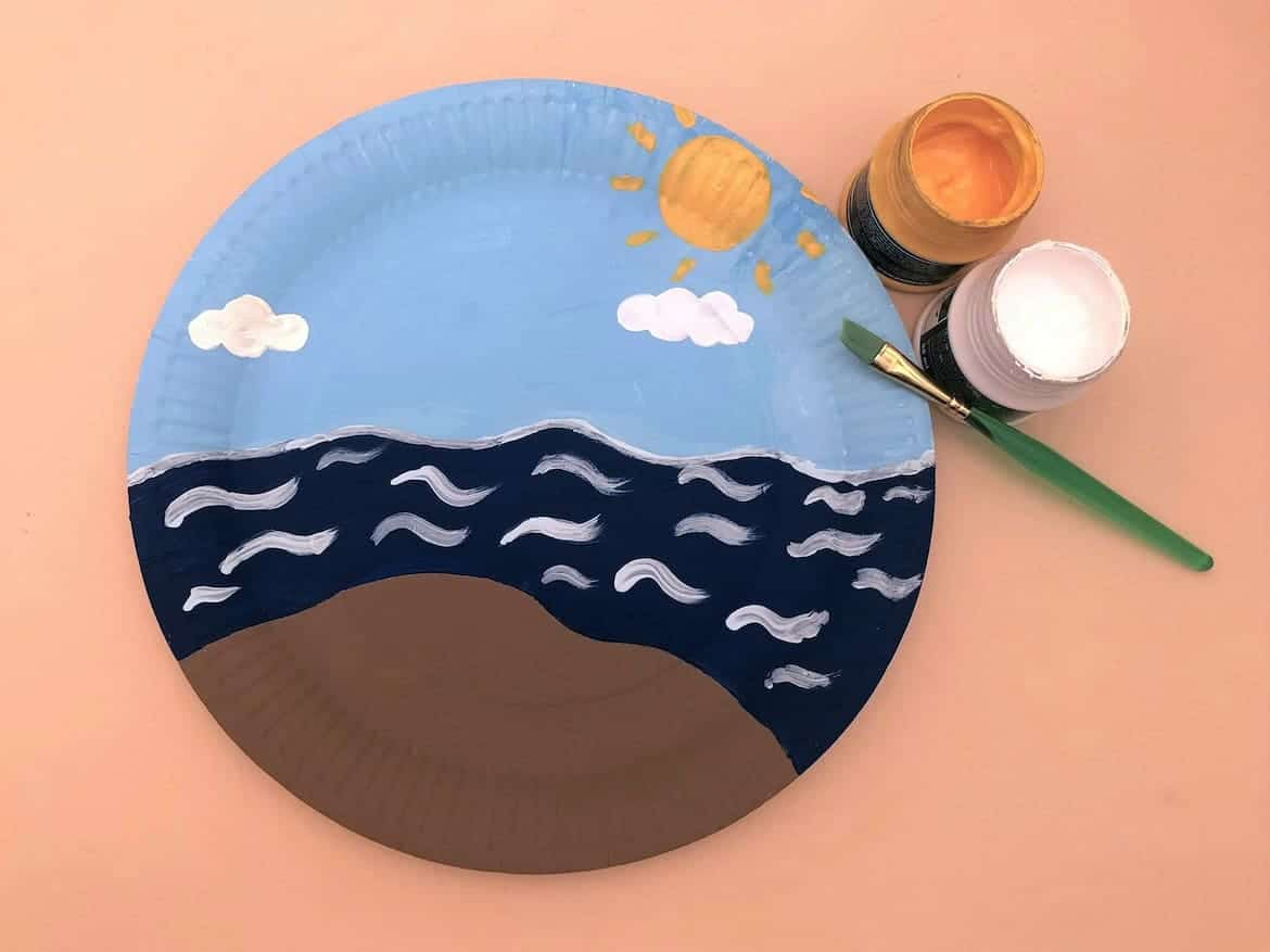 Lighthouse Paper Craft for Kids