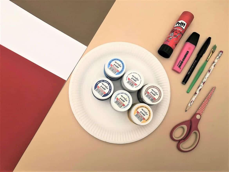 Lighthouse Paper Craft for Kids materials DIY Easy Lighthouse Craft for Kids