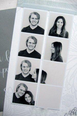 cute polaroid couple picture idea