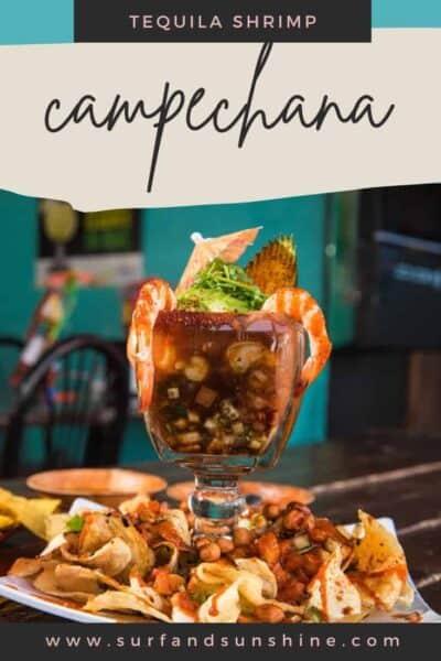 Shrimp Campechana Mexican Shrimp Cocktail Recipe