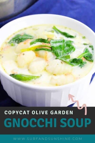 copycat olive garden gnocchi soup recipe