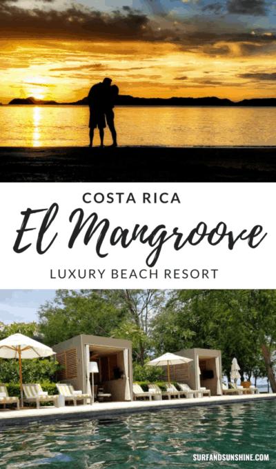 costa rica luxury beach resort el mangroove