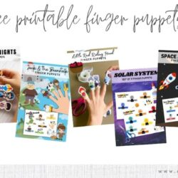 5 Free Printable Finger Puppets for Kids