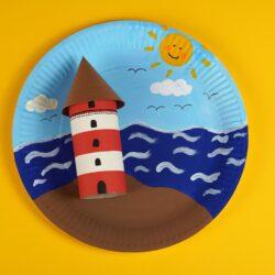DIY Lighthouse Craft for Kids
