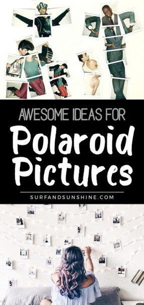 Cute Polaroid pictures and Polaroid picture ideas