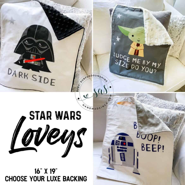 star wars baby lovey