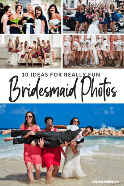 10 Ideas for Really Fun Bridesmaid Photos