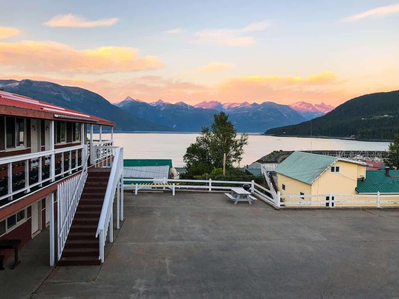 Captain's Choice Motel Haines Alaska location