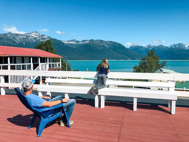 Captain's Choice Motel Haines Alaska view