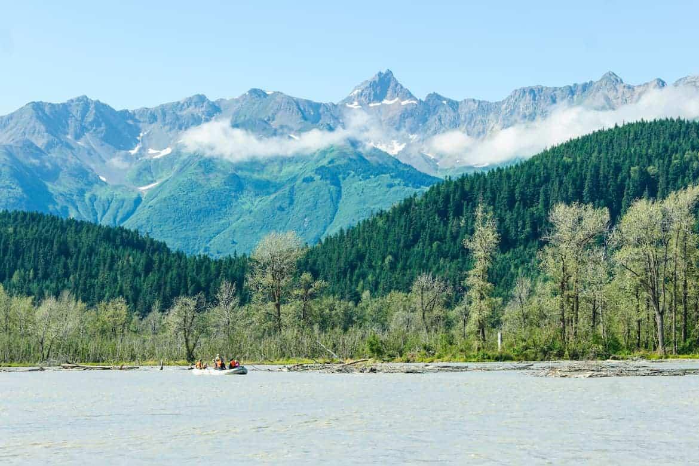 Chilkoot River Float Haines Alaska
