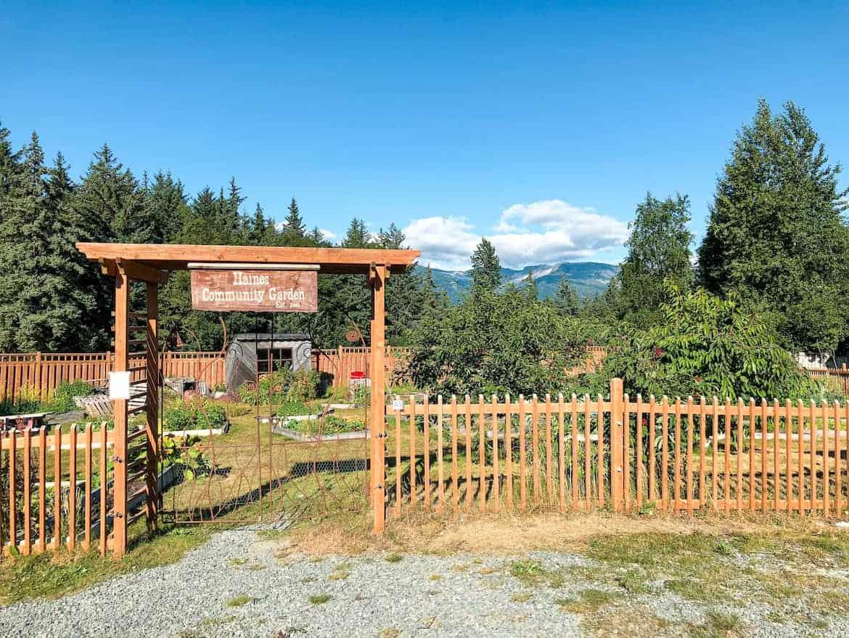 Dalton City Haines Alaska Community Garden