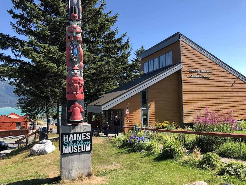 Haines Alaska Sheldon Museum