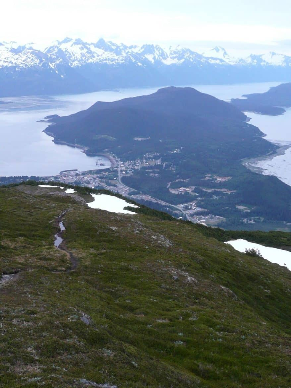 Mt. Rapinski trail haines alaska