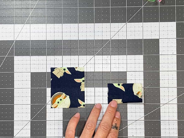 Star Wars Mandalorian baby grogu coin pouch sewing tutorial
