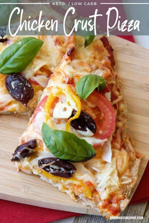 chicken pizza crust recipe