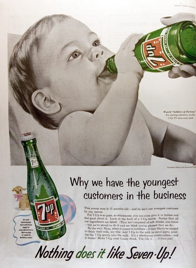 vintage 7up ad