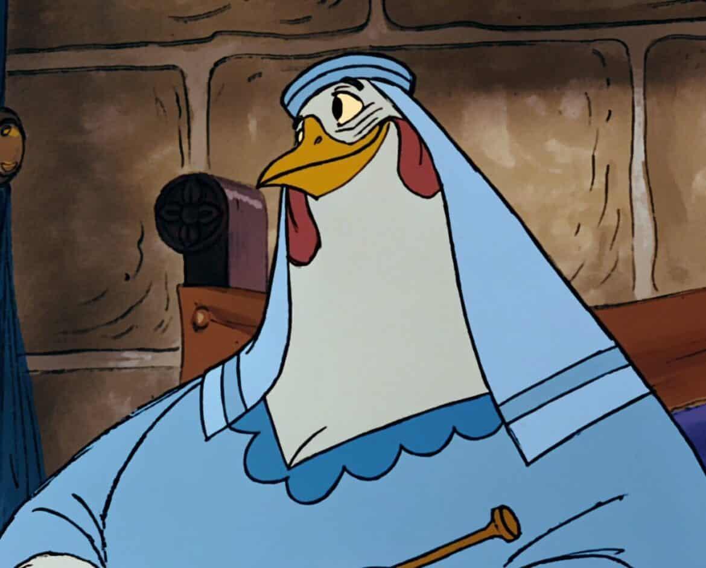 lady cluck robin hood disney