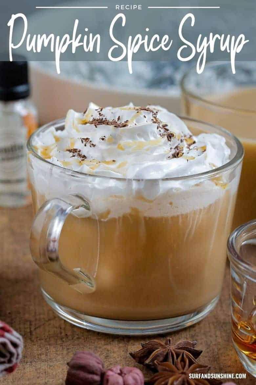 diy pumpkin spice latte syrup recipe