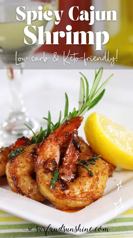 Easy Spicy Cajun Shrimp Recipe