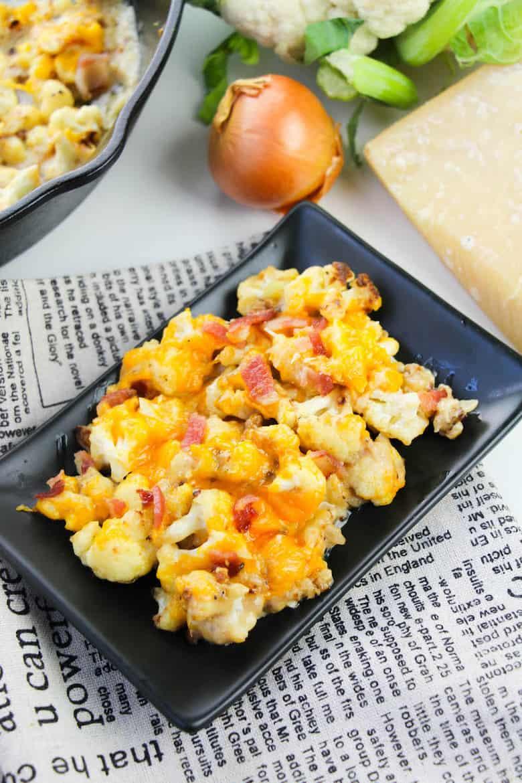 cauliflower cheese bake recipe final 4