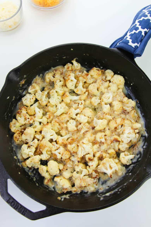 cheesy cauliflower recipe in process 6