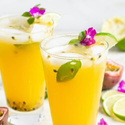 Refreshing Passion Fruit Cocktail Recipe