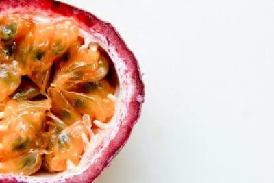 passoin fruit closeup