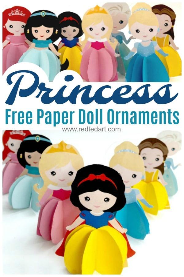 Princess Doll Ornaments