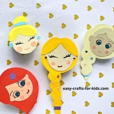 princess rings kids party craft