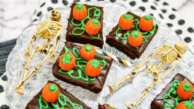 Halloween Brownie Ideas Pumpkin Patch Brownie (4)