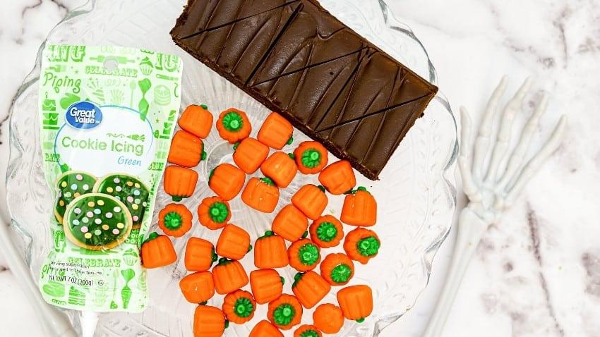 Halloween Brownie Ideas Pumpkin Patch Brownie