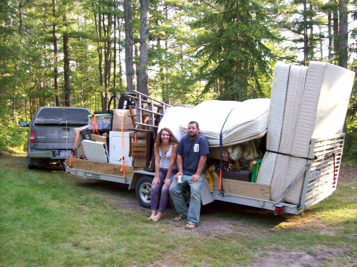 camping across country