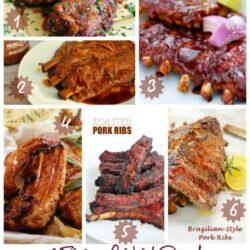 6 Finger Lickin' Good BBQ Pork Rib Recipes + 5 Tips for Grilling Ribs