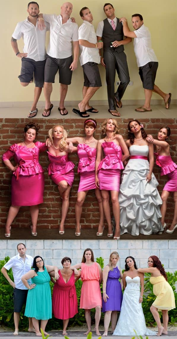 bridesmaids movie photo copycat