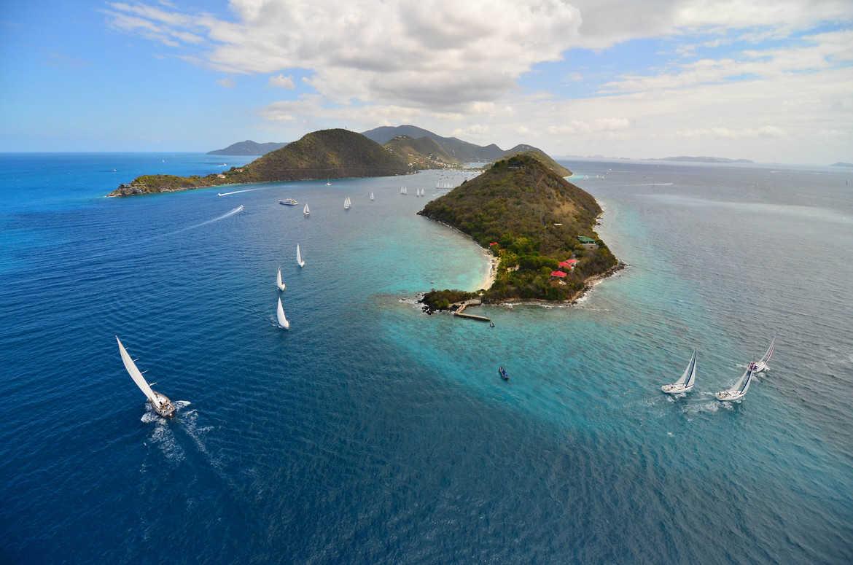 British Virgin Islands sail boats