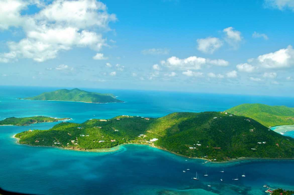 how to fly to british virgin islands