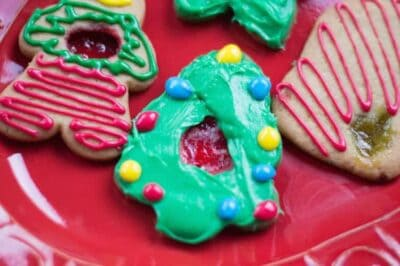 Candy Filled Frosted Sugar Cookies