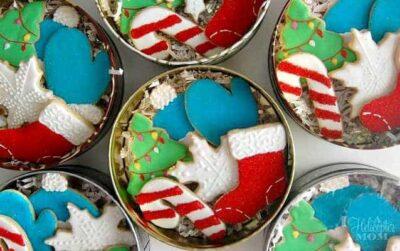 Christmas Cookie Tins
