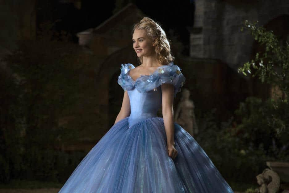 disney cinderella movie cast Lily James