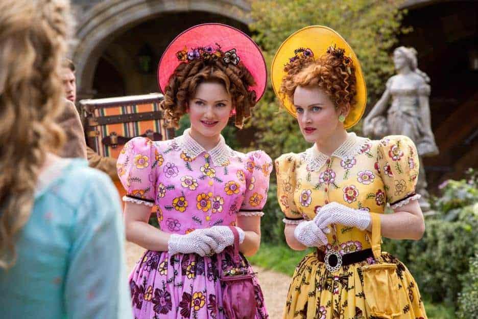 disney cinderella movie stepsisters