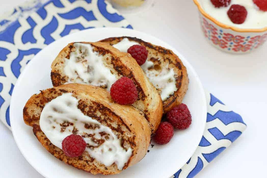 Cinnamon Vanilla French Toast Recipe