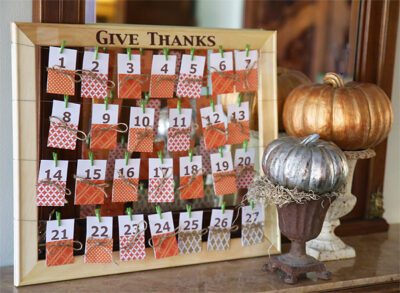 DIY Thanksgiving Projects For Home and Table 6