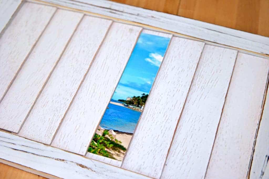 shutter photo frame