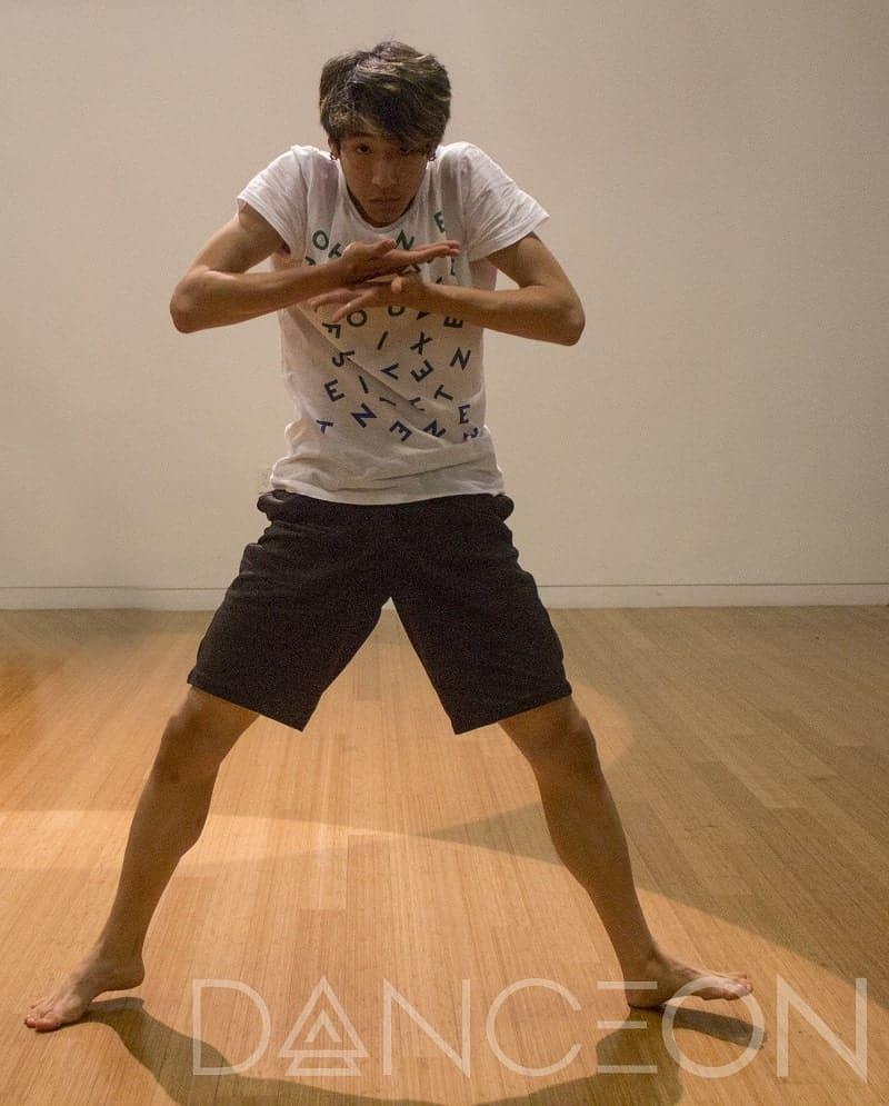 Dance School Diaries performer Lex Ishimoto