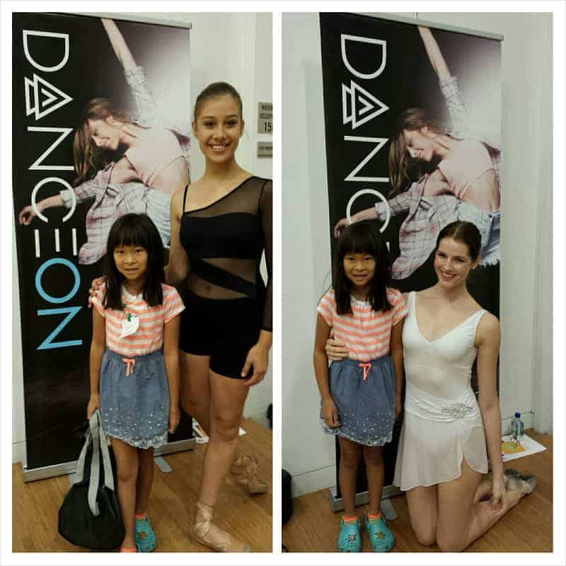 Chloe with Andrea Guite (left) & Sage Humphries (right).