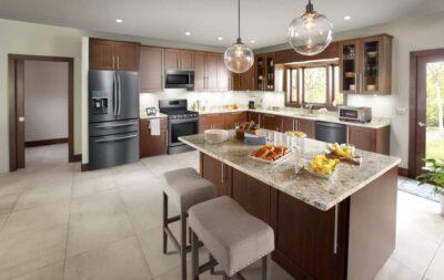Dept4 Samsung Transitional Kitchen NoExp