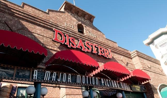 Disaster Ride Universal Orlando