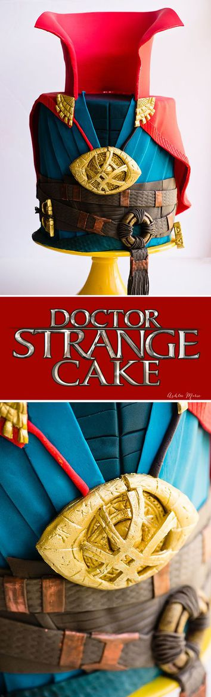 Dr Strange Party Cake